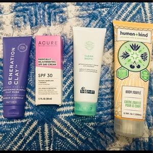 High End Skin Care - Lotion, Cream, Mask, SPF 30